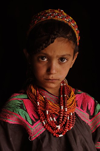 Kalash people - Kalash girl
