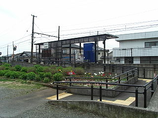 Kamiya Station Railway station in Fuji, Shizuoka Prefecture, Japan