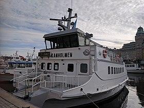 M/S Kanholmen ved Nybrokajen