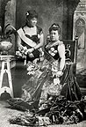 Kapiolani and Liliuokalani at Golden Jubilee (PP-98-11-008).jpg
