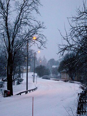 Karjalohja - Karjalohja in winter 2008