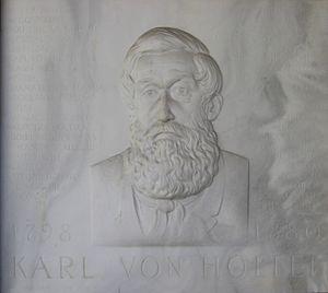 Karl von Holtei - Memorial plaque in Breslau