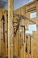 Karmsund folkemuseum (Regional Museum) Haugesund Norway 2020-06-10 Eldre kvalfangst (hvalfangst whalery) kvalbåge (hvalbue) handharpun etc 00252.jpg