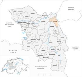 Map of Roggwil
