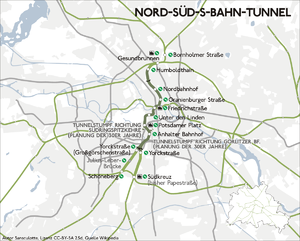 Berlin Nord Süd Tunnel