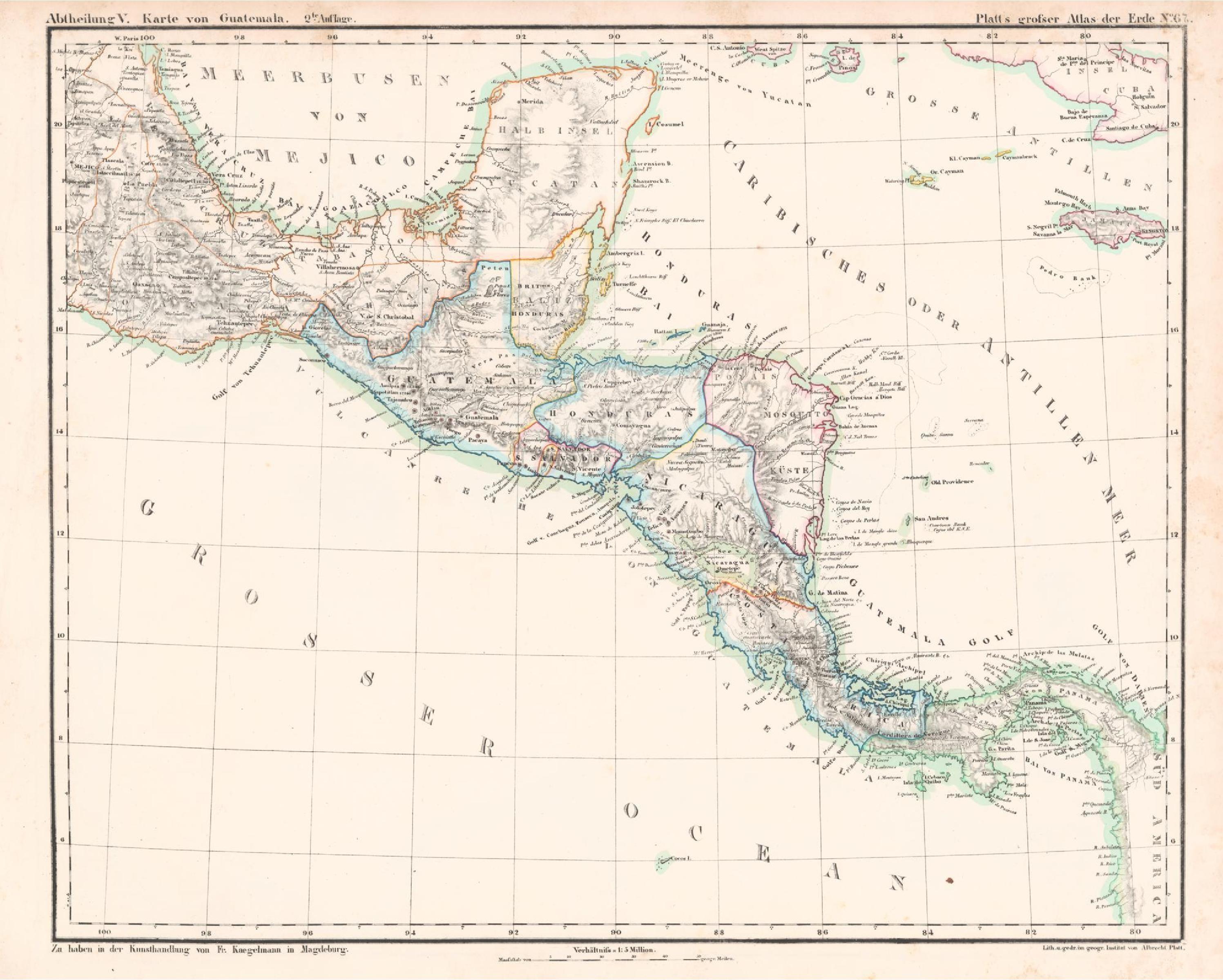 Guatemala Karte.File Karte Von Guatemala Platt 1848 Pdf Wikimedia Commons
