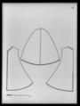 Kasack av scharlakansrött kläde - Livrustkammaren - 34484.tif