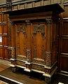 Kast (cupboard), Netherlands, second half of 17th century, oak with ebony inlay - Cincinnati Art Museum - DSC04434.JPG