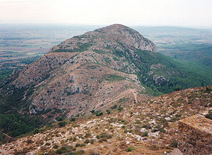 Montgrí Massif - The Puig Rodó in the Montgrí Massif.