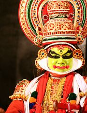 Kathakali Performance Close-up