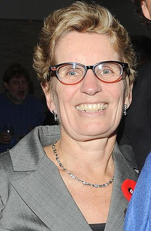 Ontario Liberal Party leadership elections - Image: Kathleen Wynne