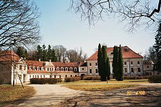 Peter Ludwig von der Pahlen - Schloss Kauzmünde, where Count Pahlen lived in exile.
