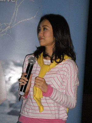 Kay Tse - Tse during a performance on March, 2010.