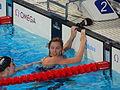 Kazan 2015 - Femke Heemskerk after free mixed relay finish.JPG