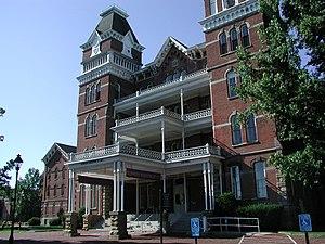 Athens Lunatic Asylum - Image: Kennedy Museum Ohio Univ