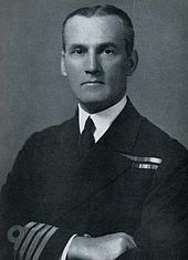 Official service photograph of Captain Kenneth Dewar in a formal pose.