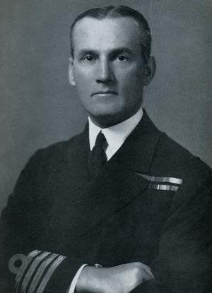 Kenneth Dewar - Vice-Admiral Kenneth Dewar (as a Captain)