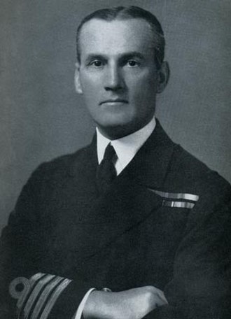 Kenneth Dewar - Vice-Admiral Kenneth Dewar (as a Captain)