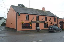 Keogan's Bar in the centre of Nobber village