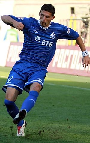 Kevin Kurányi - Kurányi playing for Dynamo Moscow