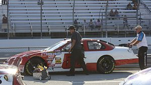 Jimmy Means - Mean's 2009 Nationwide car