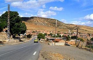 Derrag Commune and town in Médéa Province, Algeria