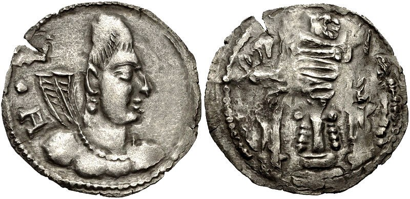 Khingila of the Alchon Huns Circa 440-490 CE