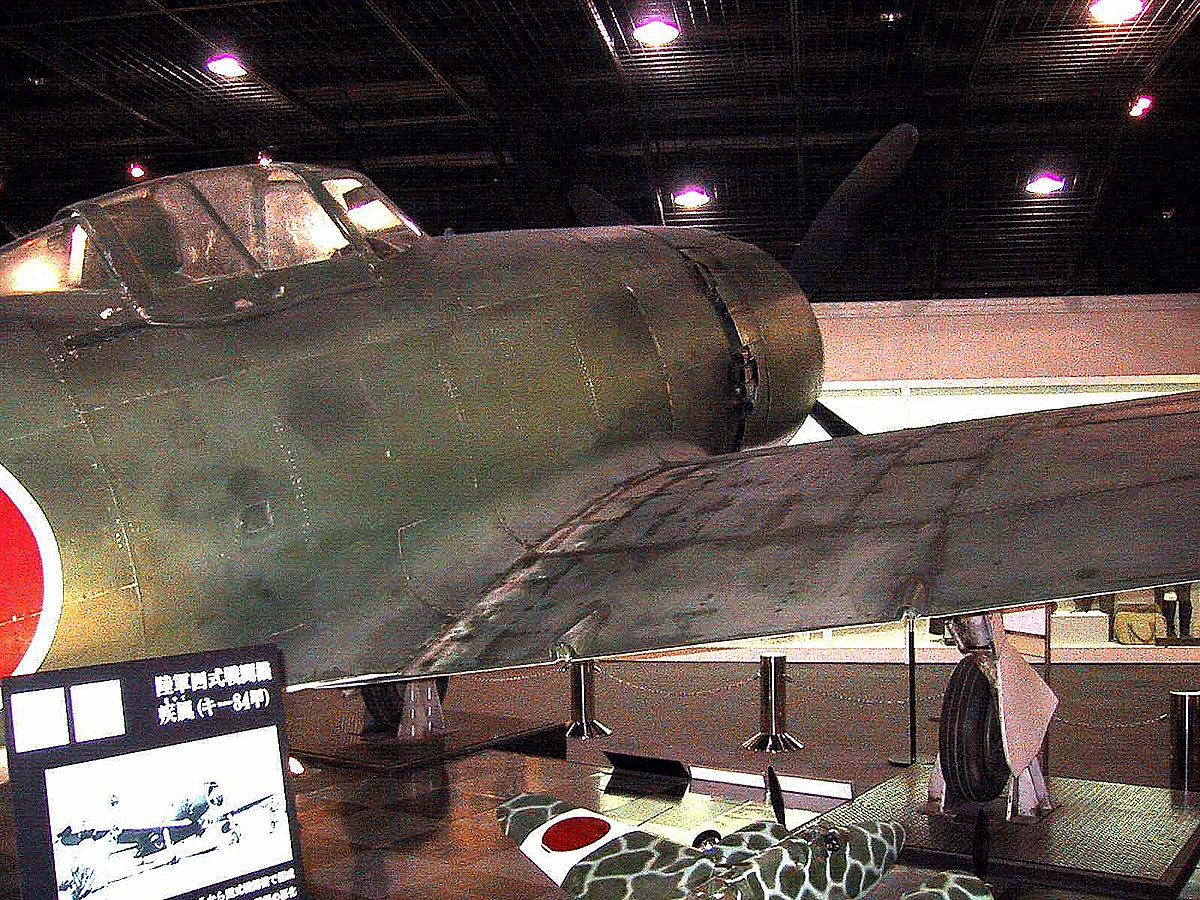 Ki-84-Right fuselage and wing root.jpg