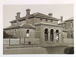 Kilmore, Victoria - The Kilmore courthouse, 30 June 1933