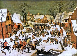 Massacre of the Innocents (Bruegel) - Version in the Kunsthistorisches Museum, Vienna, long regarded as the original.