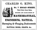 King BroadSt BostonDirectory 1850.png