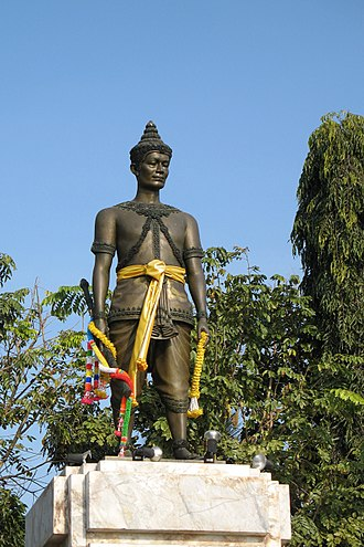 Phayao Province - King Ngam Mueang Monument, Phayao Lake