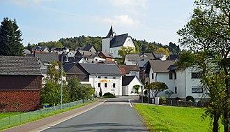Bischoffen - Niederweidbach with the Marienkirche
