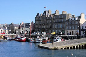 Kirkwall harbour and hotel - geograph.org.uk - 1320945.jpg