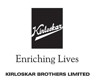 Kirloskar Brothers A company which manufactures pumps