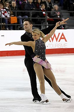 Kirsten Moore-Towers and Michael Marinaro at 2017 Nationals.jpg