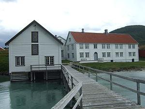 Erasmus Zahl - Trade seat of Kjerringøy. Photographer: Harald Groven