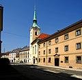 Klagenfurt Voelkermarkter Vorstadt Voelkermartkter Strasse Pfarrkirche Sankt Lorenzen 07042009 69.jpg