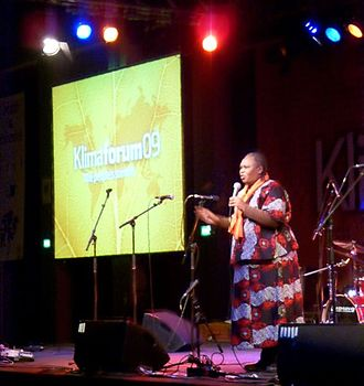 2009 United Nations Climate Change Conference - Wahu Kaara (Global justice activist / Kenya Debt Relief Network) spoke at the closing ceremony at Klimaforum09 – People's Climate Summit in Copenhagen December 2009.