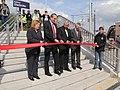 Koblenz im Buga-Jahr 2011 - Eröffnung Haltepunkt Koblenz Stadtmitte 3.jpg
