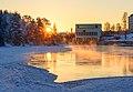 Koivukoski power plant on a winter morning.jpg
