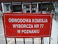 Komisja Wyborcza nr 77 Poznan Winiary.jpg