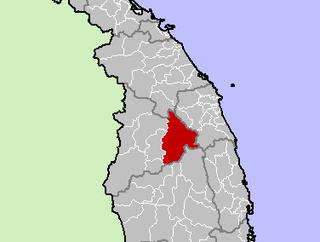 Kon Plông District District in Kon Tum Province, Vietnam