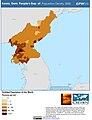 Korea, Dem. People's Rep. of Population Density, 2000 (5457625022).jpg