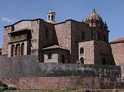 Coricancha temple and Church of Santo Domingo