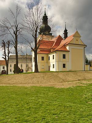 Kunštát - Image: Kostel svatého Stanislava, Kunštát, okres Blansko (02)