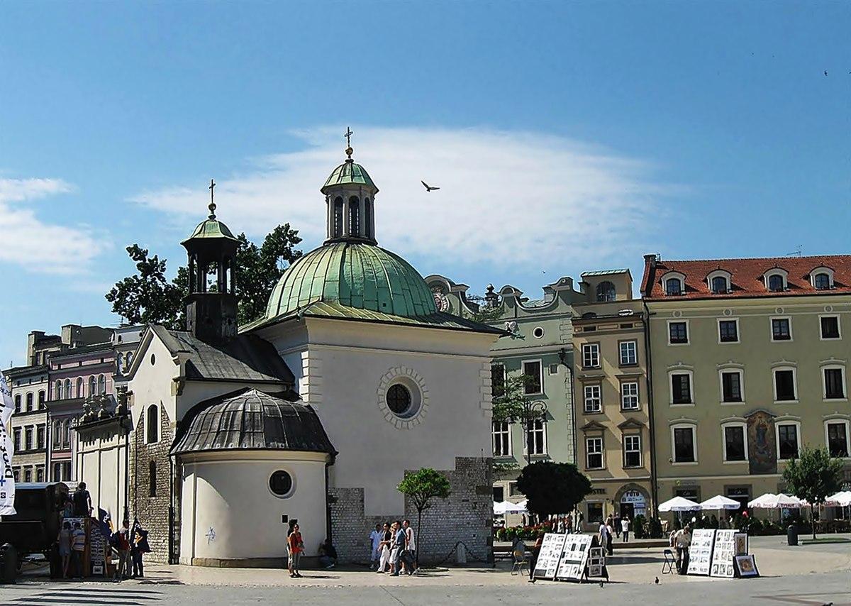 Sint Adalbertkerk Krakau Wikipedia