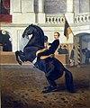 Kronprinz Rudolf zu Pferde, Spanische Hofreitschule, Wien.jpg