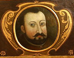 Krzysztof Opaliński - Krzysztof Opaliński portrait on sarcophagus