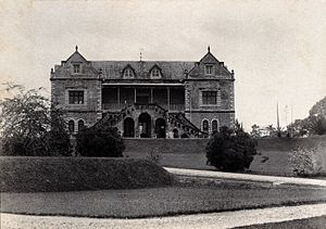 Sarawak State Museum - The museum in 1896, prior to its extension in 1911.